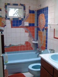 Some mosaic madness in the WC!